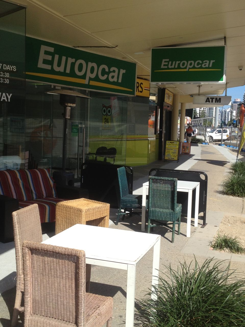 Europcar Office Surfers Paradise Blvd